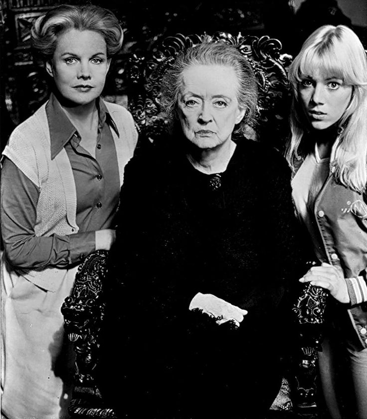 Bette Davis, Lynn-Holly Johnson, and Carroll Baker in The Watcher in the Woods (1980)