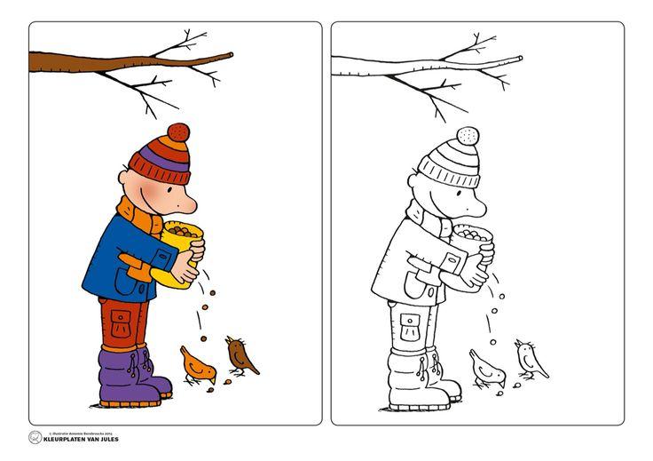 Jules winter vogels