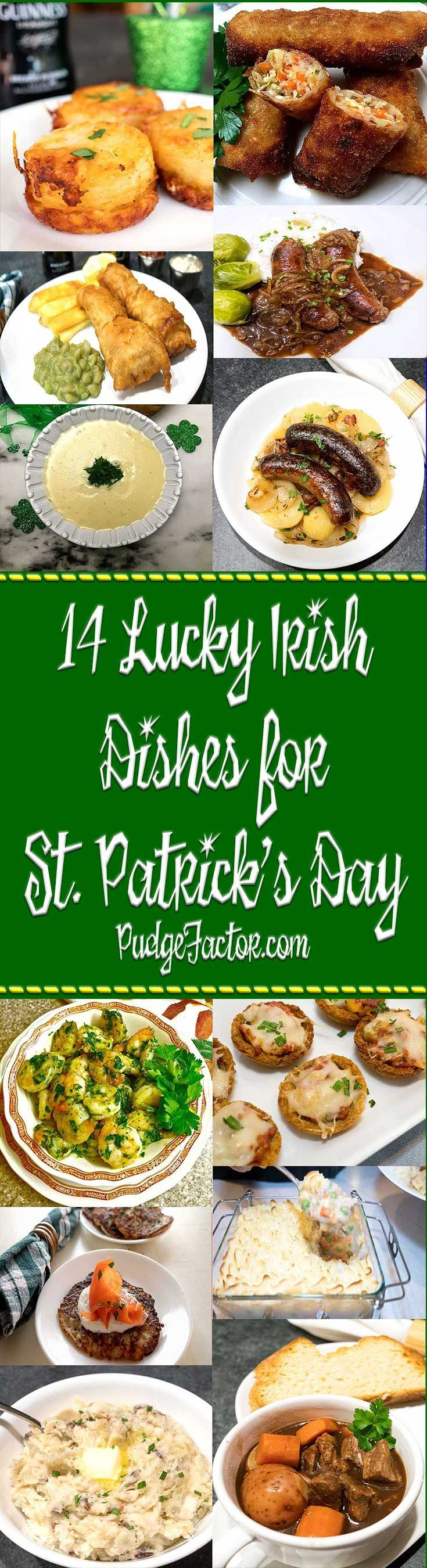 St. Patrick's Day is just around the corner. I teamed up with Grits and Pinecones to bring you 14 Lucky Irish Dishes certain to put a jig in your step. via @c2king