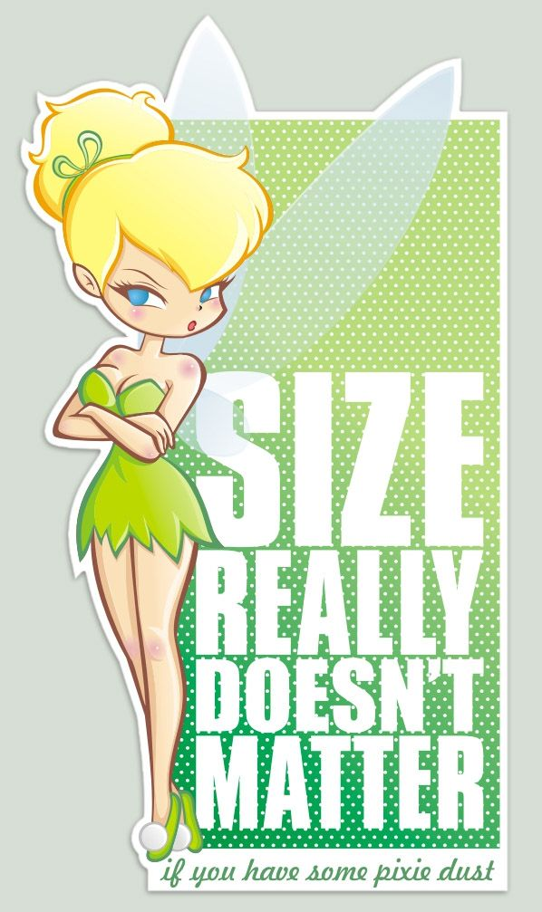 Size really doesn't matter by ~analage on deviantART