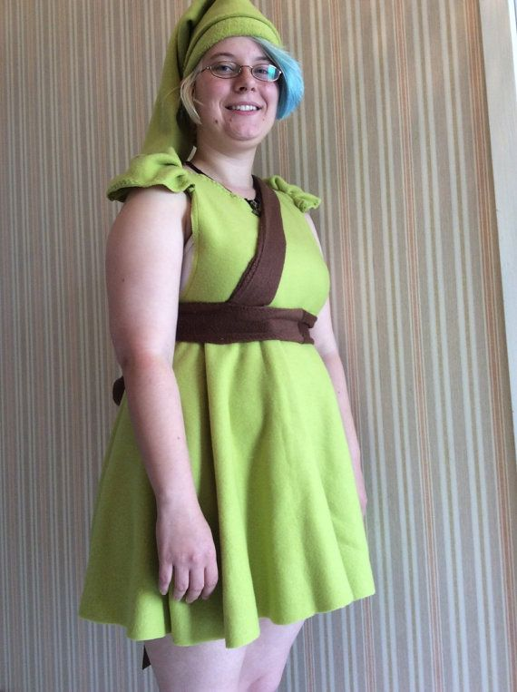 Link inspired fleece dress  from the by KatelilleProductions