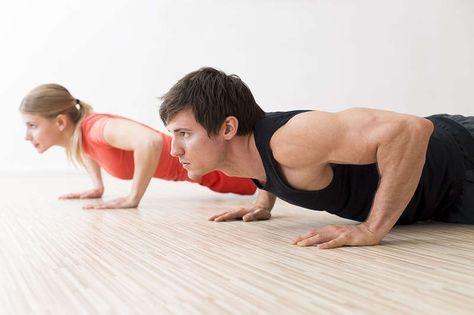 TRAINING DER BRUSTMUSKULATUR Bauch einziehen, Brust rausstrecken - das ist die Devise. Um dabei eine gute Figur zu machen, findest du hier Übungen fürs Training der Brustmuskulatur.