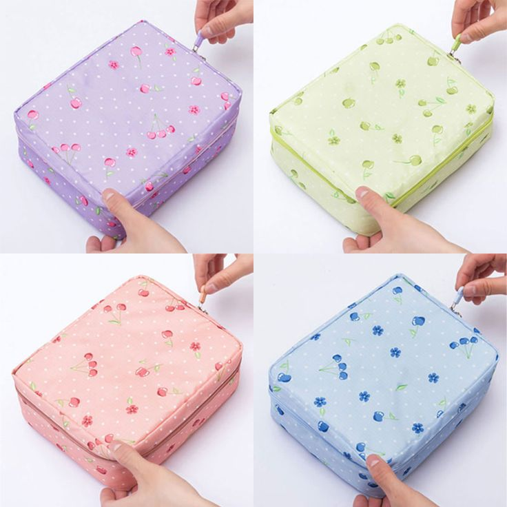 New Make Up Organizer Bag Women Men Casual Travel Multi Functional Cosmetic Storage Waterproof Bags Popular