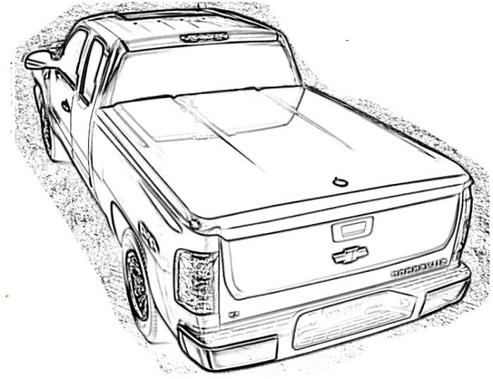 Dodge Truck Coloring Page Pictures To Pin On Pinterest Dodge Coloring Pages