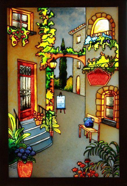 faux vitrail patrons gratuits recherche google vitrail faux vitrail peinture sur verre. Black Bedroom Furniture Sets. Home Design Ideas