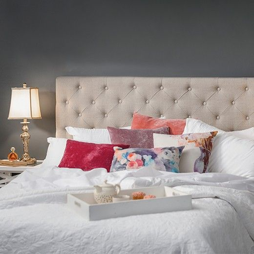 Emmaline Antique Bedhead Bed.
