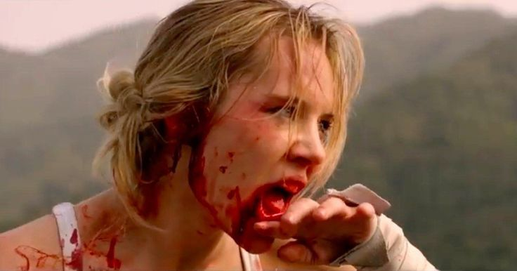 Lady Bloodfight Trailer: An Insane, Blood-Soaked Fight to the Death -- Amy Johnson stars as an American woman who trains to fight in a kumite tournament after being mugged in the new trailer for Lady Bloodfight. -- http://movieweb.com/lady-bloodfight-trailer/