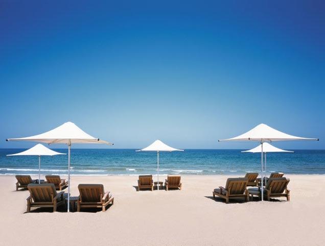 Barr Al Jissah Beach, Oman