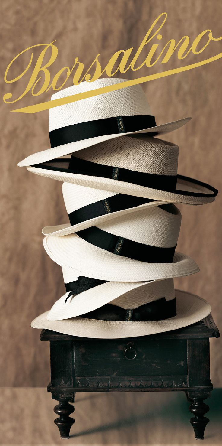 Borsalino -renowned Italian hat maker
