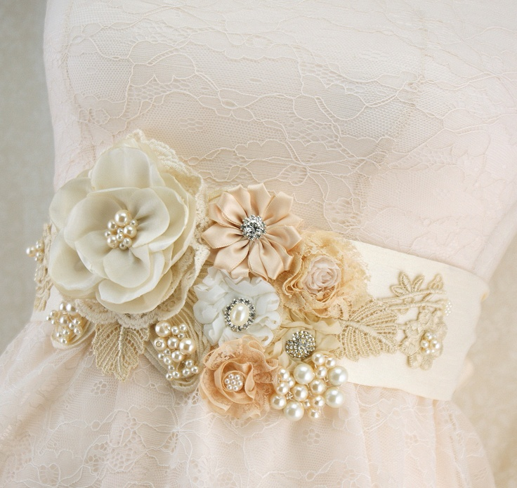 Bridal Sash Would be perfect in Blue, Purple and Green for Livia's tulle peacock dress