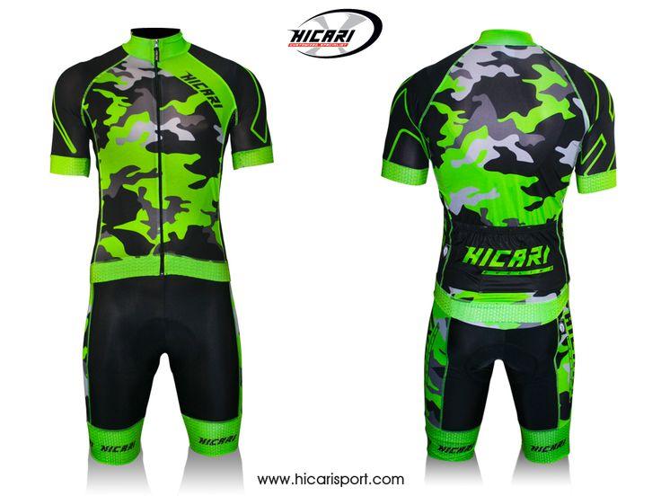 #Camouflage verde fluo 2015 @HicariSport