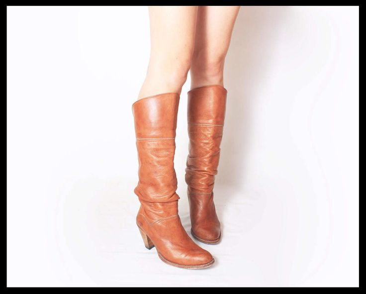 Classic Antique (1970s Vintage RARE Mid-Century FRYE Designer Cowboy Western Boots in Tan Brown Leather) Steampunk, Country Equestrian CHIC! by ClassicAntique on Etsy https://www.etsy.com/ca/listing/510096932/classic-antique-1970s-vintage-rare-mid
