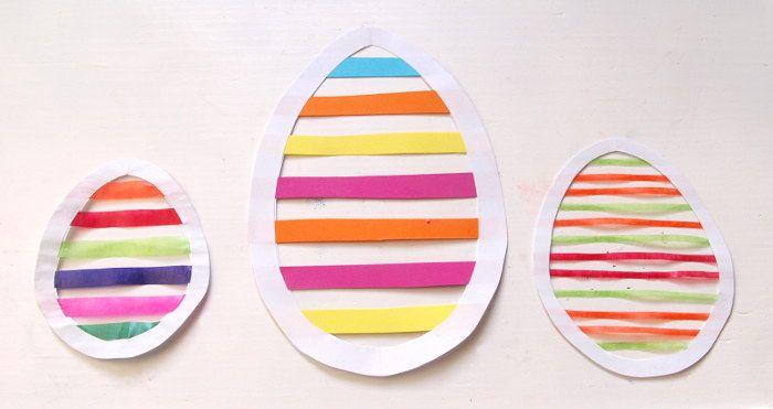 Basteln mit Kindern zu Ostern: Ostereier basteln aus Papier