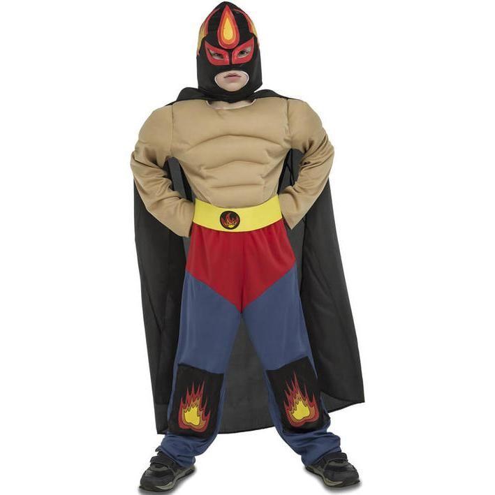 Disfraz de luchador mexicano para niño