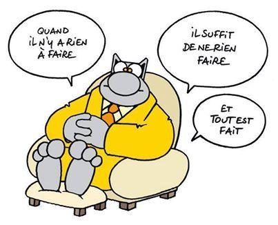 le chat par P. Geluck