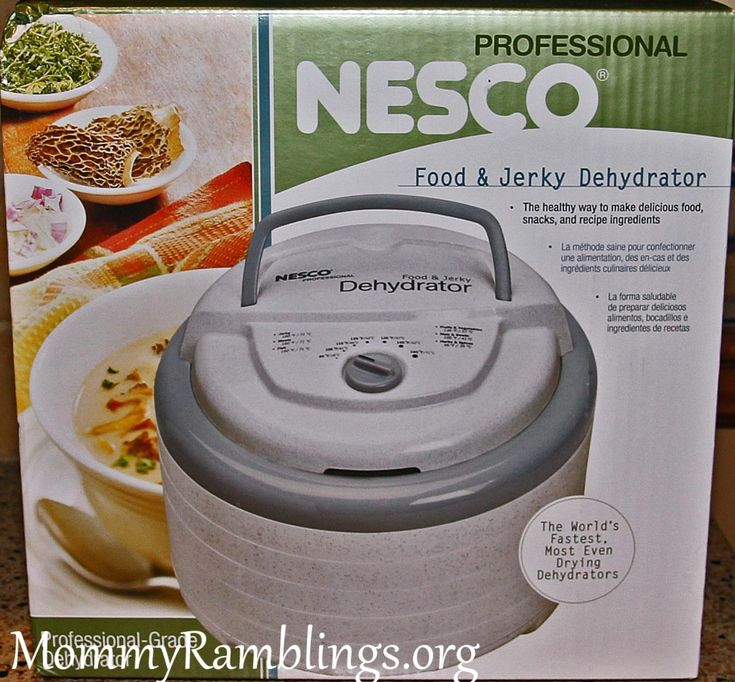 Nesco, Snackmaster® Pro Food and Jerky Dehydrator Review & Giveaway!!!