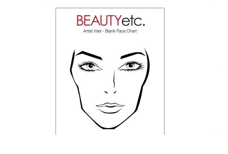 92 best face charts images on pinterest