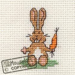 Mouseloft cross stitch tiddler range Rabbit: Amazon.co.uk: Toys & Games