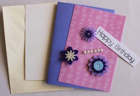 Fancy Flower Card Kit