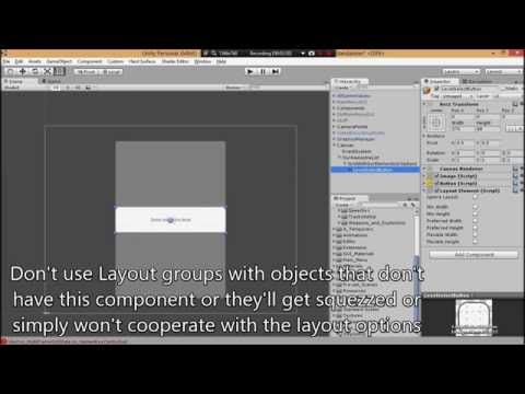 Unity UI Tutorial - How to make a scrollable list - YouTube