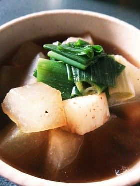 薬膳♪冬瓜と長芋とネギのスープ by 薬膳せつこ [クックパッド] 簡単 ...