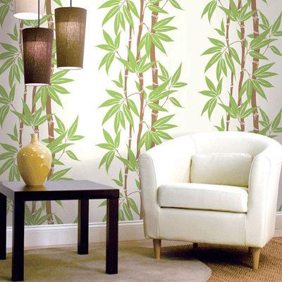 Bamboo wallpaper.