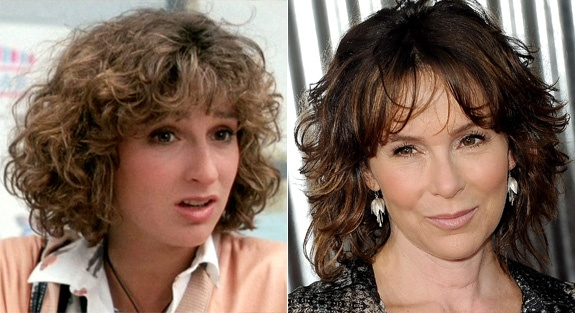 Jennifer Grey from Ferris Bueller's Day Off then and now