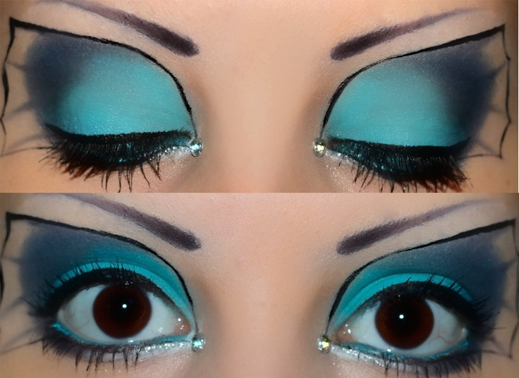 Vaporeon makeup so well done!
