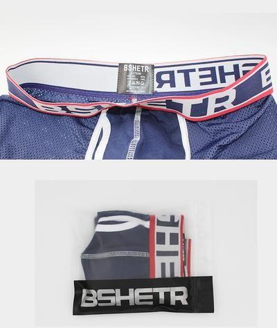 240da62c4f04 New BSHETR Brand Underwear Boxer Men Breathable Mesh Men's Boxers Male  Underpants Sexy Panties Cotton Mens Bodysuit Trunks Pant