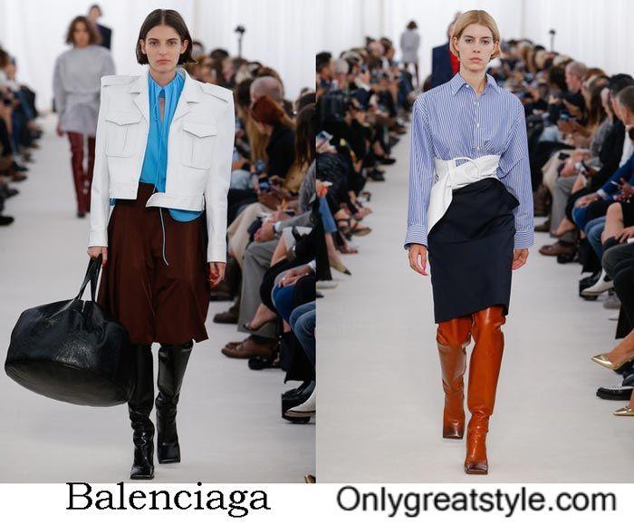 Balenciaga spring summer 2017 fashion show women's