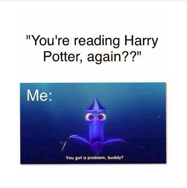 It's even funnier cause I'm actually rereading HBP right now. Haha😂