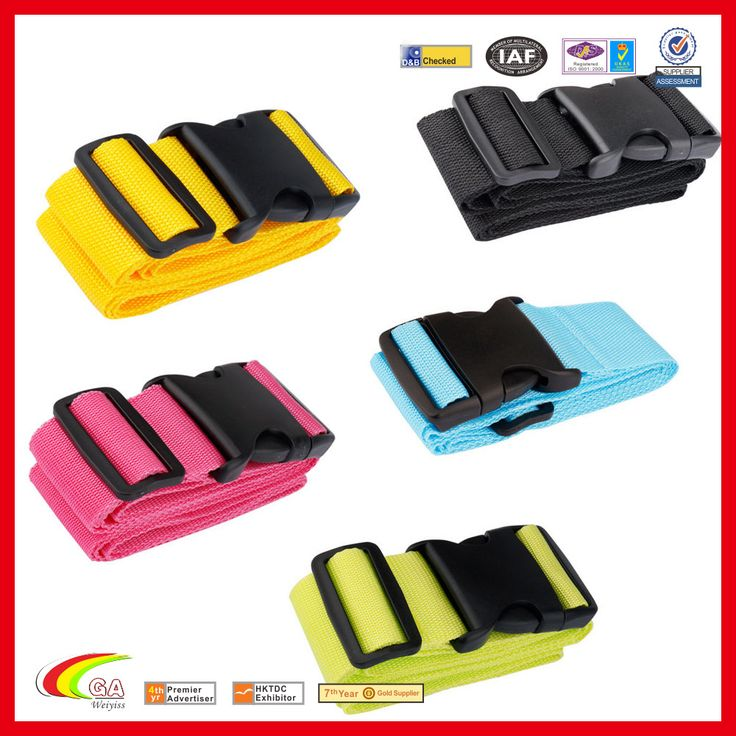 suitcase nylon belt cross luggage strap durable