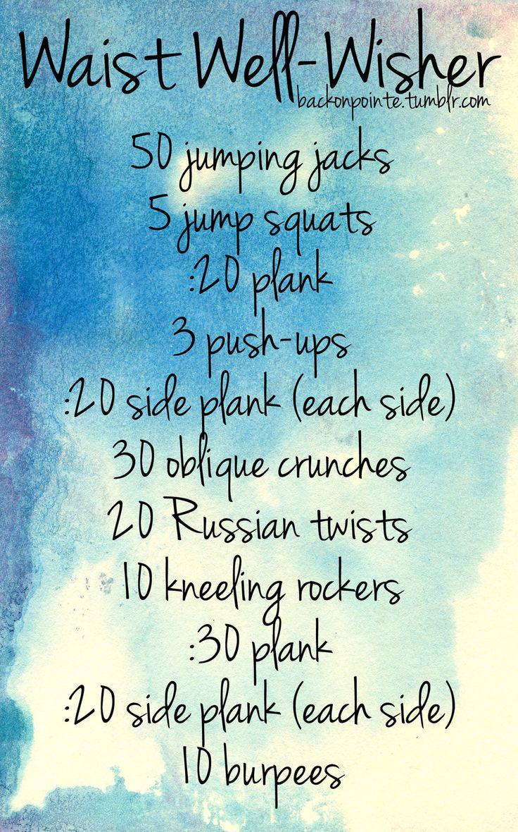 Ab workout♥