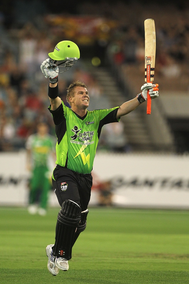 Was great working with Sydney Thunder in season one of the Big Bash League.  Unfortunately David Warner couldn't play more than one game but very pleased with hitting goals in attendance & digital platforms