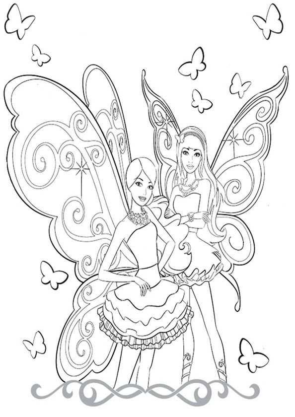 Ausmalbilder Barbie Ausmalbilder Barbie Barbie Coloring Pages Mermaid Coloring Book Fairy Coloring Pages