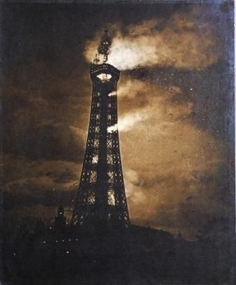 Blackpool Tower fire 1897