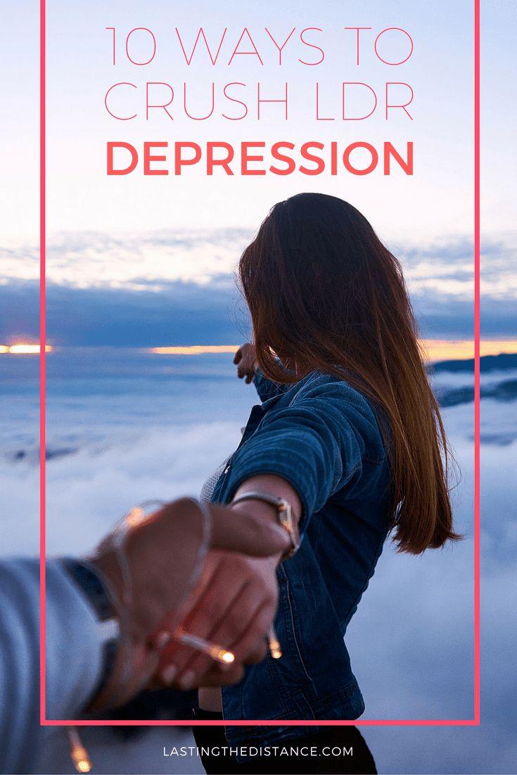 tips for surviving long distance relationship depression