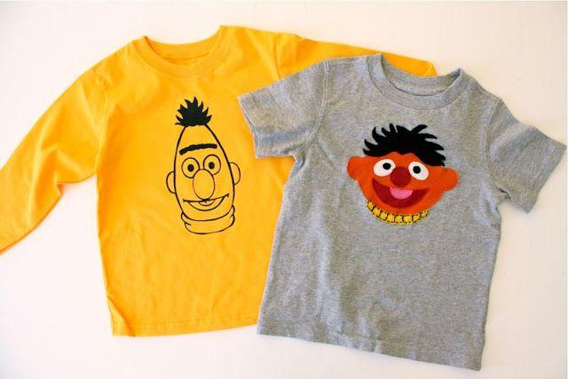 TUTORIAL: Ernie and Bert Shirts | MADE