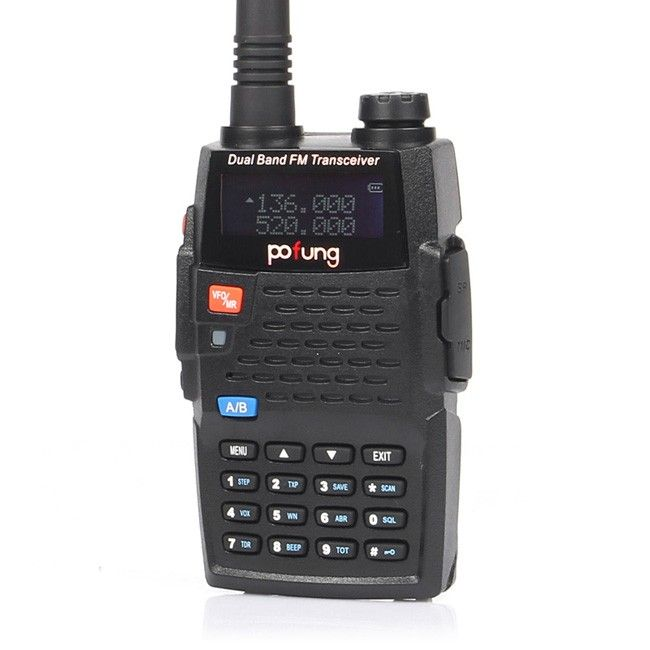 BaoFeng BF-F9 - The Baofeng BF-F9+ is an economical and compact Dual Band UHF/VHF Amateur Radio. With its 128 channel capacity and up to 12 hours of battery. $50.00