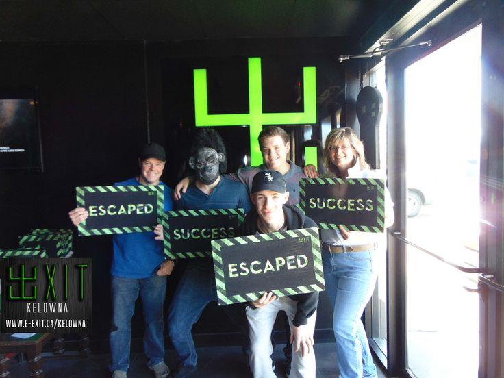 Exit Kelowna 2453 Highway 97 North, Kelowna, BC E: kelowna@e-exit.ca P: (778) 484 3366 e-exit.ca/kelowna #escaperooms #escapegames #breakoutrooms #breakoutgames #exitkelowna #kelowna #entertainment #exit #exitcanada