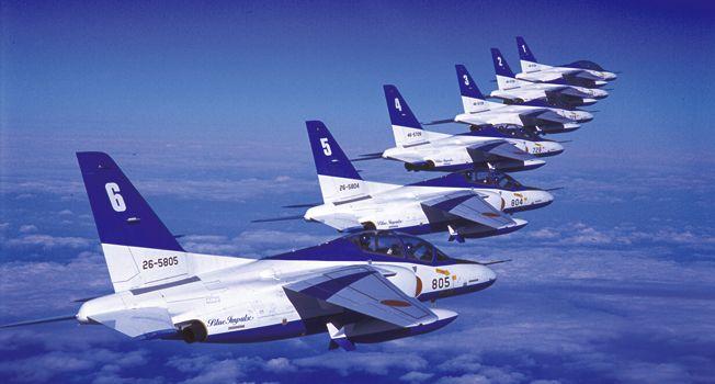 主要装備 T-4 ブルーインパルス | [JASDF] 航空自衛隊Blue Impulse