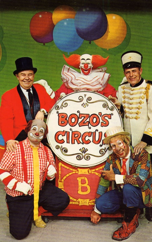 Bozo's Circus: We went to the show several times as kids and played their games at our birthday parties. Bozo's buckets was my favorite.