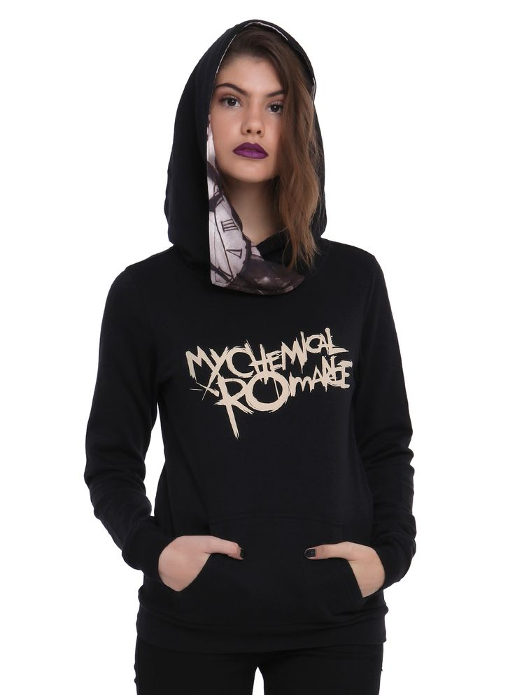 My Chemical Romance Black Parade Girls Pullover Hoodie | Hot Topic
