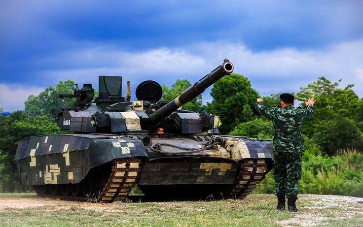«Оплот-Т» Королівської армії Таїланду (Royal Thai Army | กองทัพบกไทย) 05.2017, photo © Moo Pheromone's