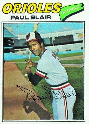 Paul Blair | Paul Blair 1977