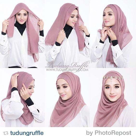 Tutoriels Hijab Simples Et Faciles                              …
