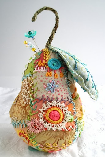 Patchwork pear