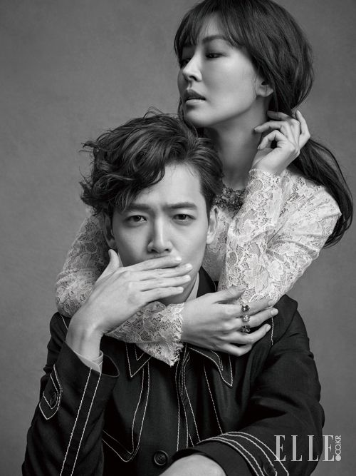 2015.04, ELLE, Jung Kyung Ho, Kim So Yeon of Falling in Love with Soon Jung