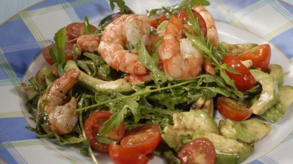 Салат из авокадо с креветками. Пошаговый рецепт с фото, удобный поиск рецептов на Gastronom.ru