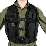 Blackhawk Urban Assault Vest- Designed especially for urban law enforcement and tactical operations, Blackhawk's Urban Assault Vest is fully adjustable for a comfortable fit over body armor.